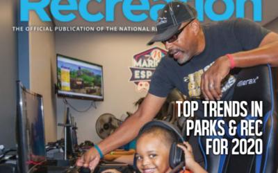 Maricopa Esports Featured in Nationwide NRPA Magazine