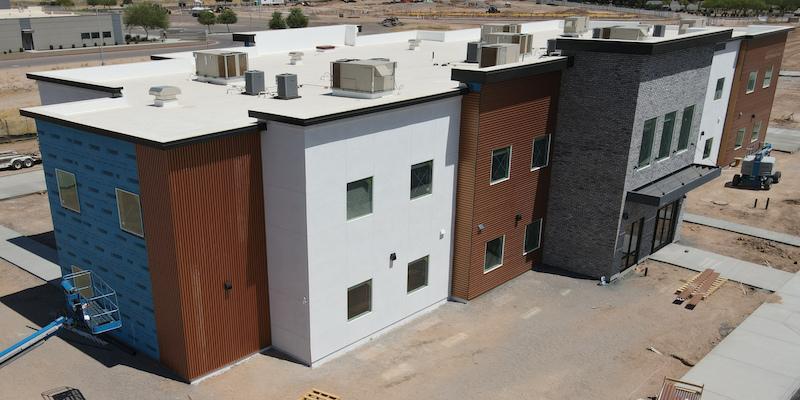 exterior building construction