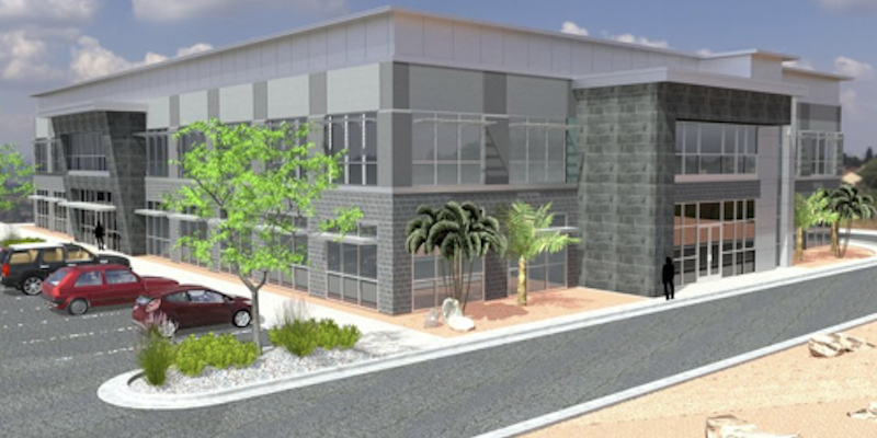 artist rendering of Estrella Gin Business Park