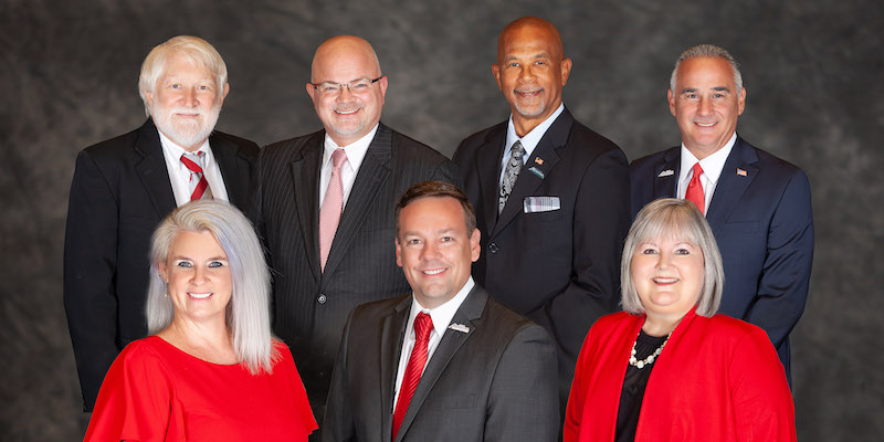 Group photo of the 2020 Maricopa City Council